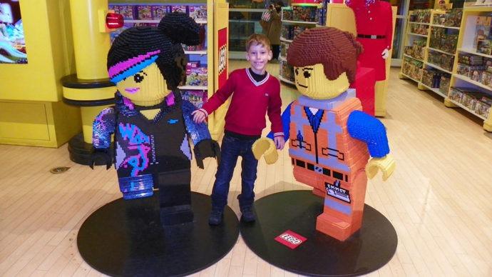 Seção da LEGO na FAO