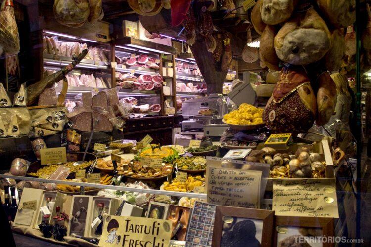 comer na Itália