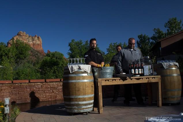 Happy Hour em Sedona, Arizona