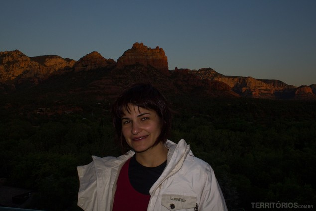 Casaco para inícios e finais de dia no Arizona