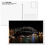 Um dos cartões postais da Coleção Territórios