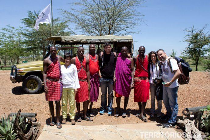 Boas vindas em Maasai Mara