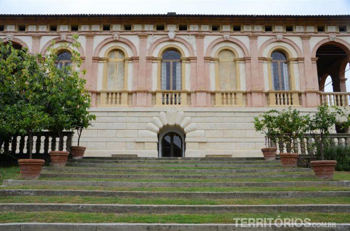 Arquitetura preservada em Villa dei Vescovi