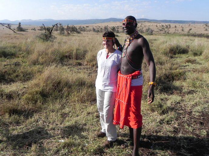 Eu e o Masai