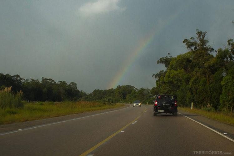 Depois da chuva na Ruta 9, Rocha - Uruguai