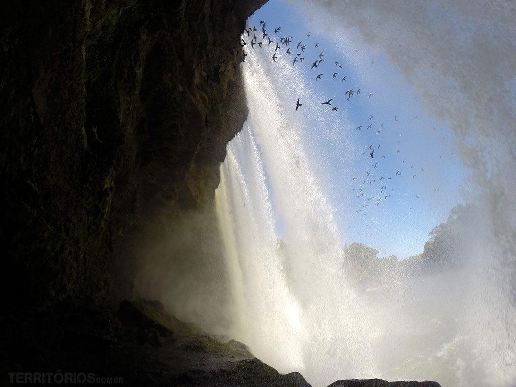 Cachoeira São Romão, Parque Nacional da Chapada das Mesas, Carolina, Maranhão - Brasil