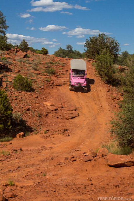 Pink Jeep Tour em Sedona