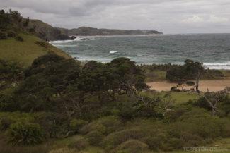 Costa selvagem da África do Sul