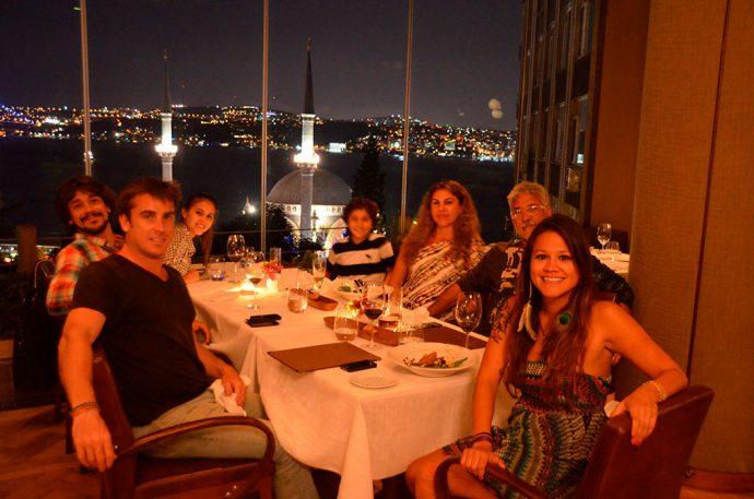 Vista do restaurante 360º