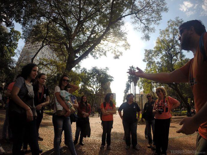 Free walking tour na Praça da Alfândega
