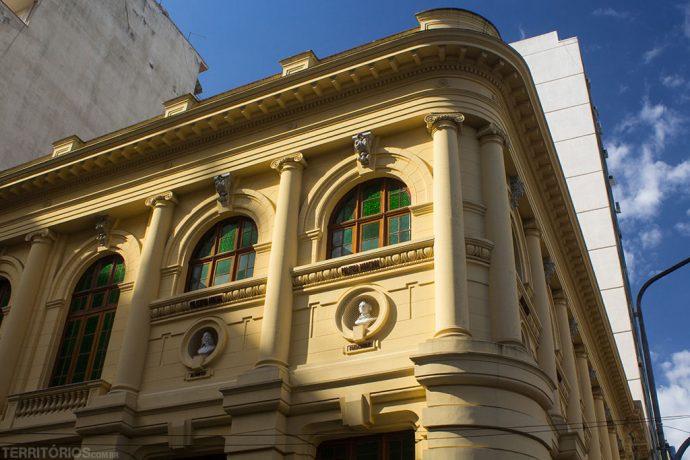 Arquitetura do período positivista na Biblioteca Pública do Estado