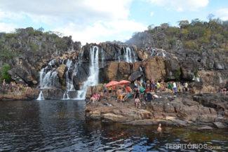 Cachoeira das Cariocas em julho