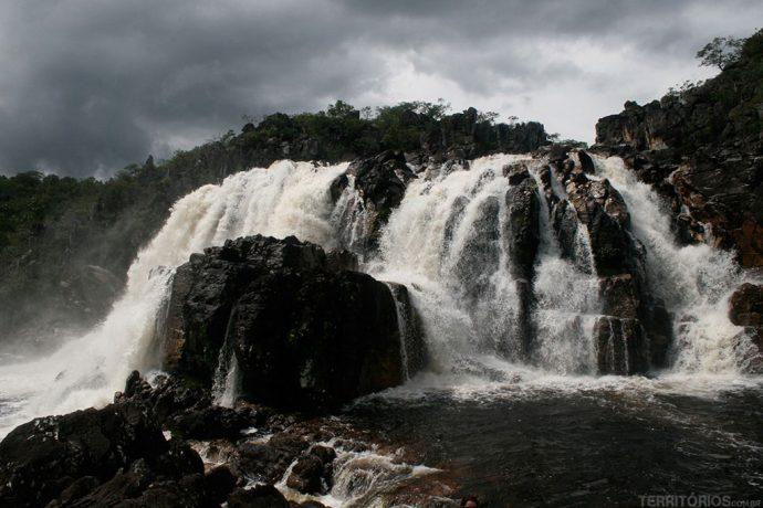 Cachoeira das Cariocas dois dias depois da chuva