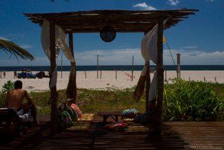 Praia do Preá vista do Rancho do Peixe