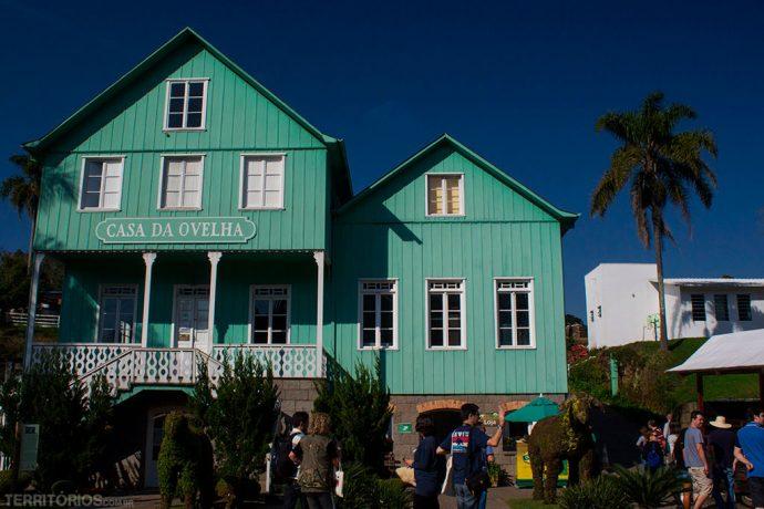 Casa da Ovelha, casa histórica preservada