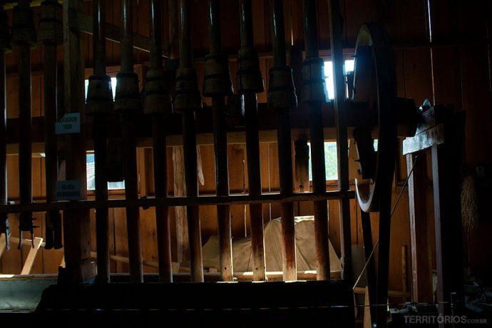 Socadores do início do século passado na Casa da Erva-mate
