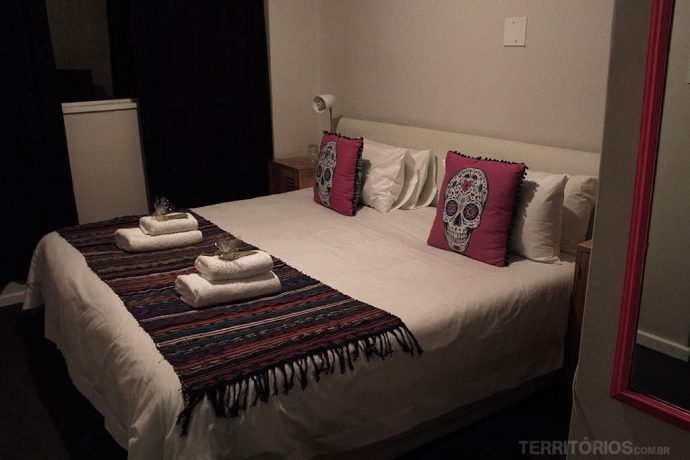 Quarto de casal no Once in Cape Town