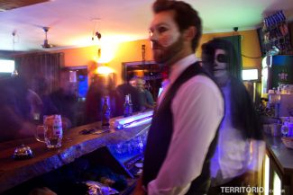 Festa de Halloween no Ashanti Lodge