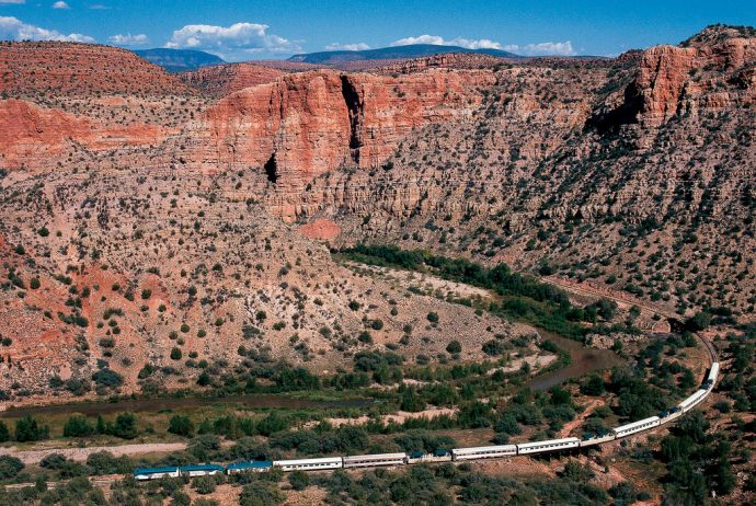 Passeio de trem no Verde Canyon