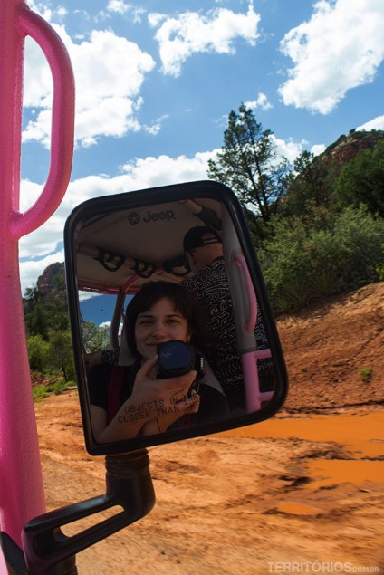 Roberta Martins em Sedona, no Arizona