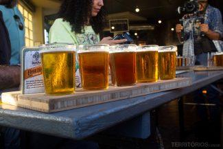 Degustação de cerveja artesanal na Devil's Peak