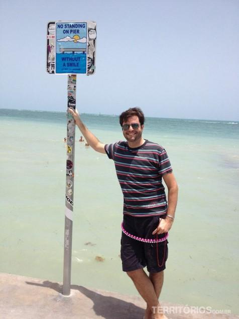 Agustin em Key West, Flórida