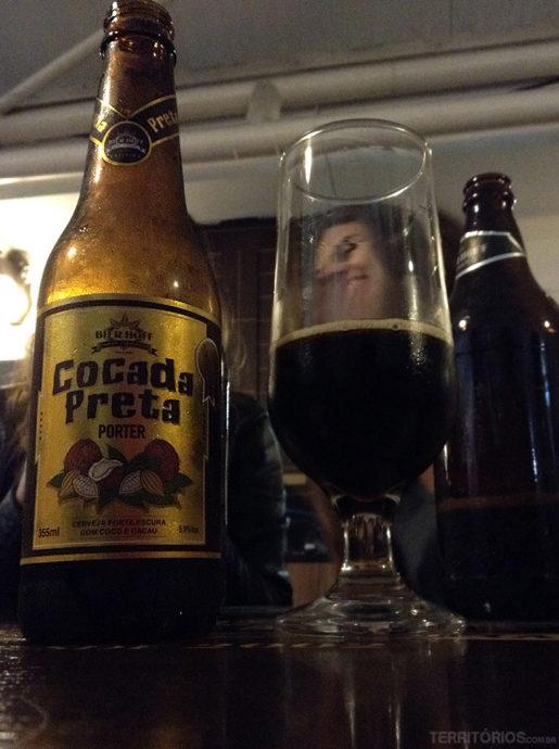 Cocada Preta, cerveja artesanal da Bier Hoff