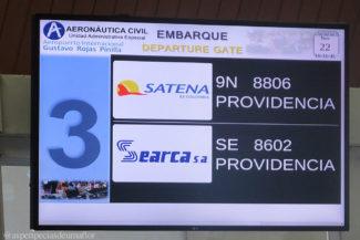 Duas empresas aéreas levam para Providência