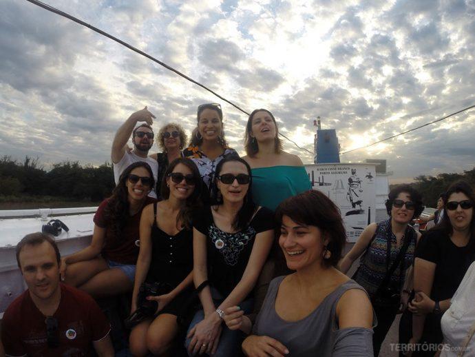 Blogueiros de viagem em Porto Alegre