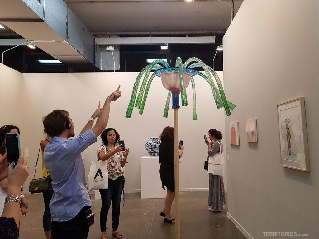 Visita guiada na SP Arte com Felipe