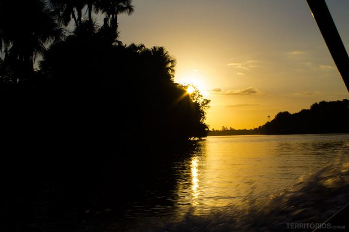 Final de tarde no Rio Preguiças