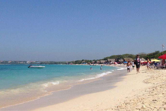 Playa Blanca, na Isla Baru
