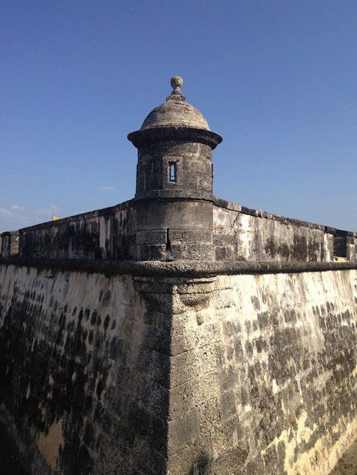 Castelo de San Fernando em Cartagena
