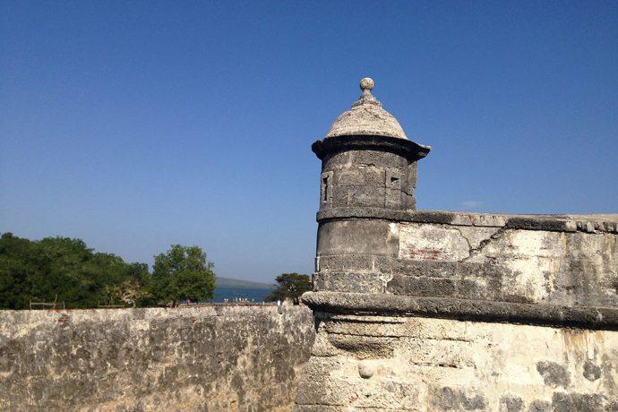 Parada obrigatória no Castelo de San Felipe de Barajas