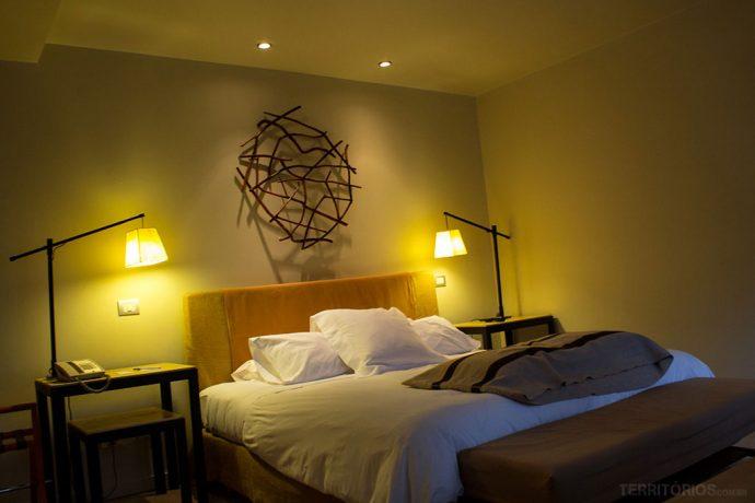Meu quarto no Hotel Patagónico