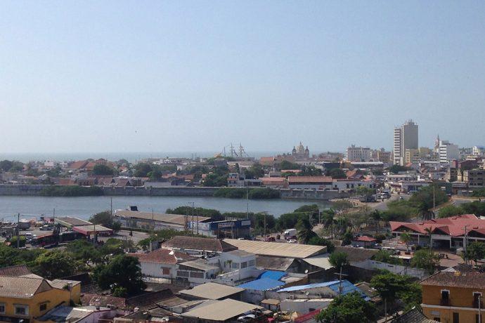 Vista panoramica de Cartagena