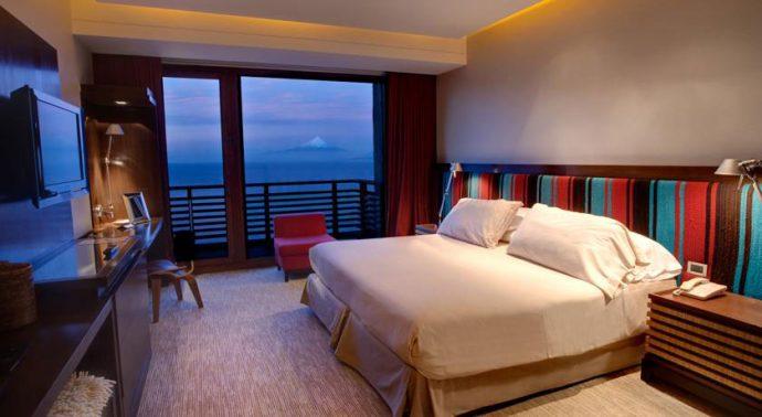 Suíte no Hotel de Los Volcanes (foto divulgação)