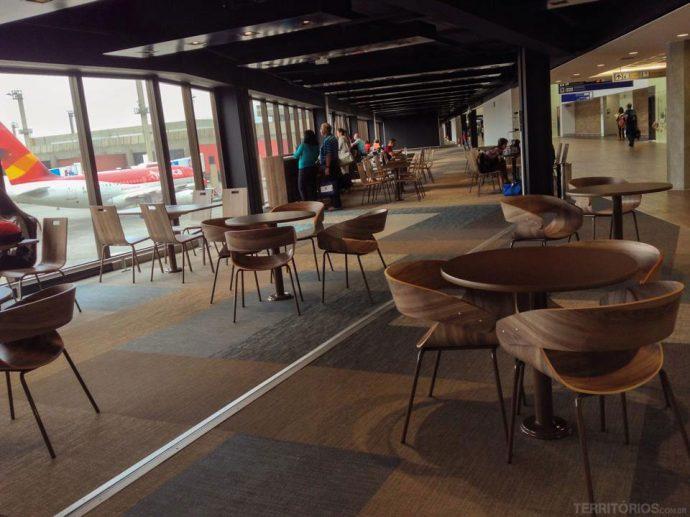 Nova área de embarque do aeroporto de Guarulhos