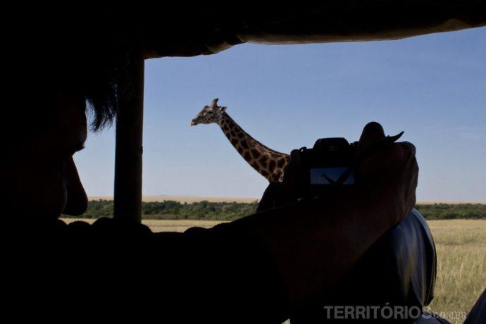 Não perca a oportunidade única de fotografar animais de perto. Leve uma boa câmera