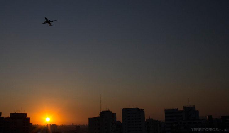 melhor aeroporto para ir a São Paulo