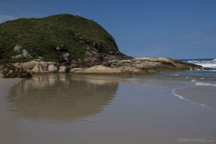 Praia Mar de Fora em Encantadas