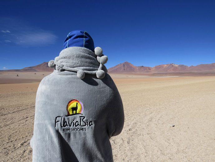Cobertor personalizado para ficar quentinha durante a viagem