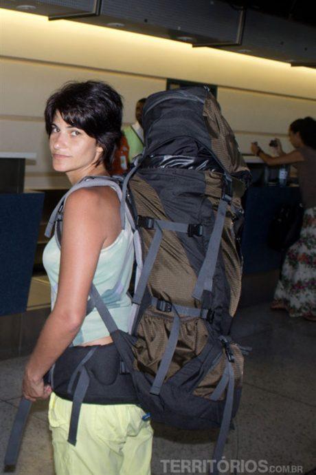 No aeroporto em Barbadossem a de ataque
