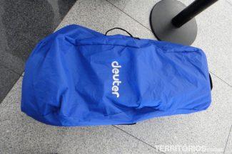 Capa de chuva ou bolsa de proteção