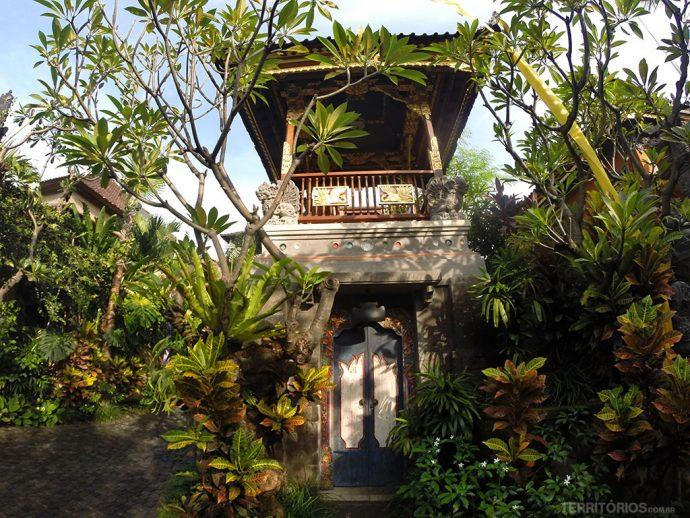 Entrada para Puri Taman Sukawati