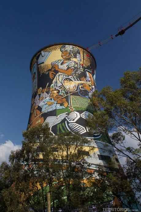 Orlando Towers revitalizada com grafite