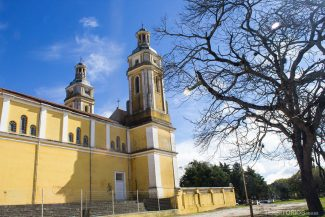 Igreja da Matriz Nossa Senhora da Assunção levou 120 anos para ser finalizada. A construção iniciou em 1815