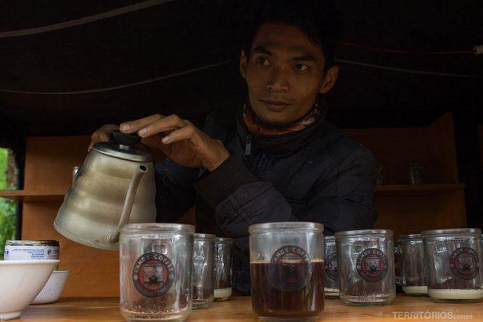 Lady Coffee, o café orgânico no meio da trilha