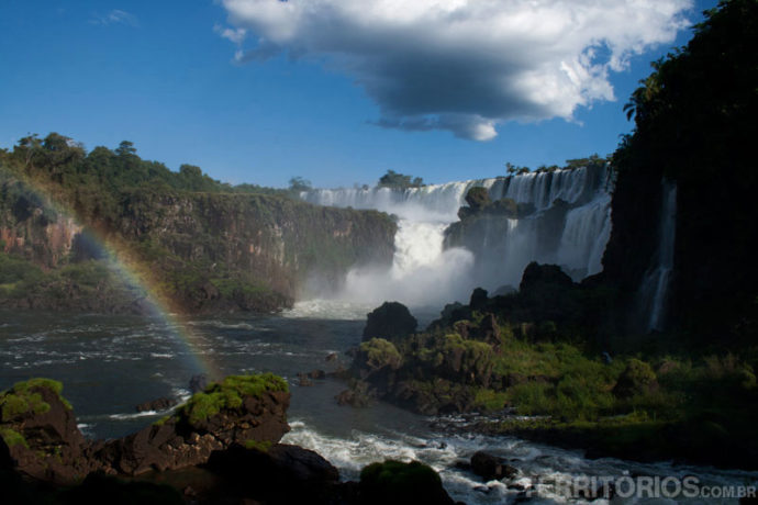 Cataratas do Iguaçú no Dia Mundial da Água