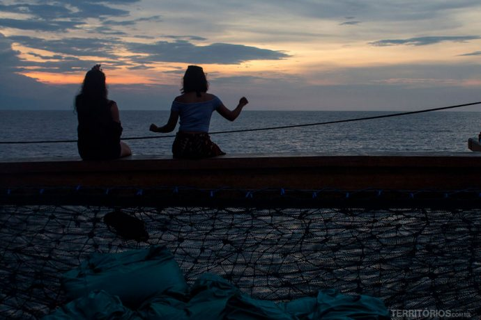 Festa no barco Samba